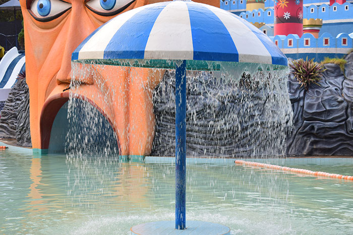 Umbrella-shower